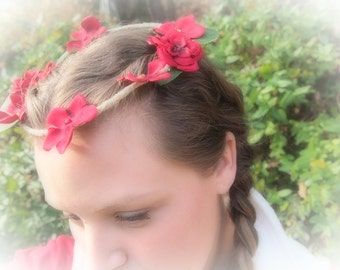 A Romantic Fairy Crown of Hope, Peace, Happiness and Love
