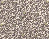 Liberty of London Grey Leaves Fabric Fat Quarter