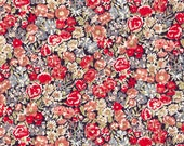 Liberty Tana Lawn Fabric Chive Red White and Blue Fat Quarter