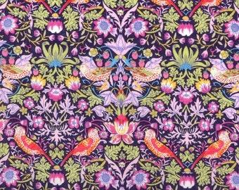 Liberty Fabric Strawberry Thief H Tana Lawn OneYard