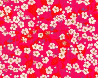 Liberty Fabric Mitsi Hot Pink Half Yard