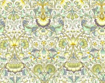 Liberty of London Fabric Lodden B Green Half Yard