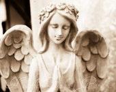 Sepia Angel 8x12 Fine Photographic Print
