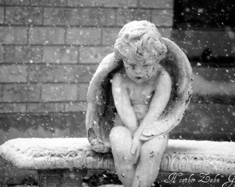 Angel In the Snow 8x12 Fine Art Photo