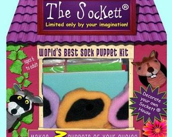 Sockett  World's Best Puppet Making Kit