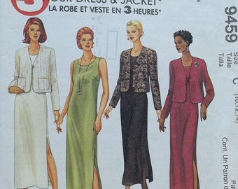 3 hour dress & jacket,McCalls pattern 9459,petite able cut to fit