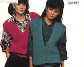 BEST VESTS EVER Vol I - Vintage  Knit Vests - 1985