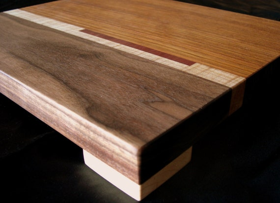 Cutting Board With Maple Feet