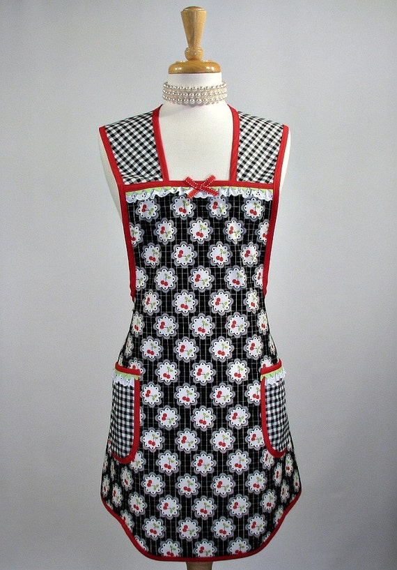Womans Vintage Inspired Everyday Apron