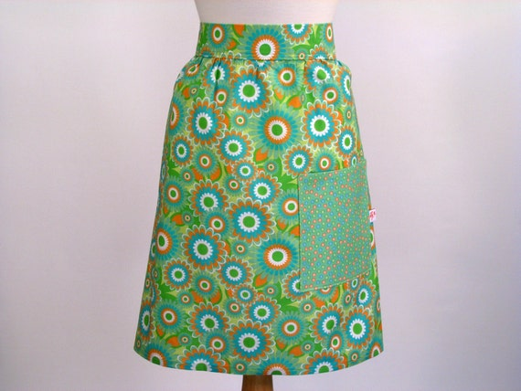 Womans Classic Everyday Half Apron