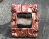 RESERVED FOR RACHEL- Folded Copper Ring