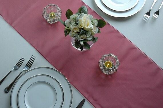 Sheer Crystal Organza Wedding Table Runners