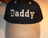 Daddy-Embroidered Baseball Hat