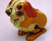 Vintage Wind Up Toy Dog