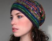 Wandering Souls Hat - Custom Made Sari Silk and Mixed Fiber Hats