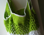 Limeade - Eco Friendly Cotton Beach Bag Tote Extra Large
