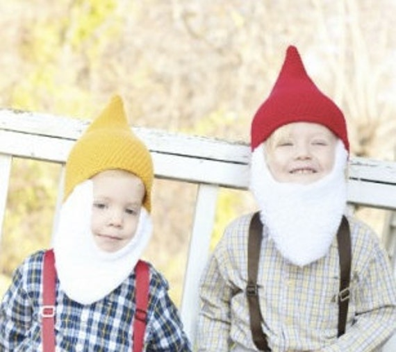 Children's Pointy Elf or Gnome Hat