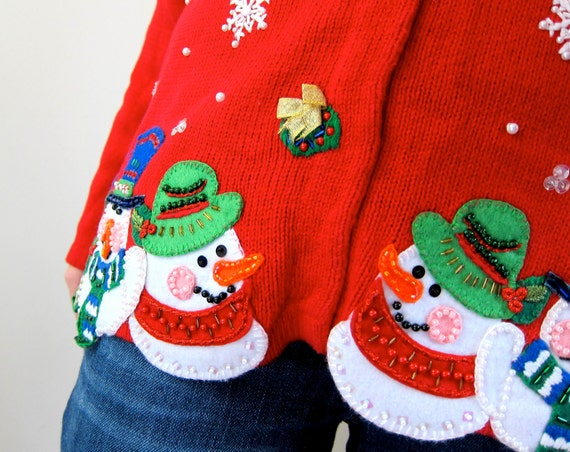 The Ugly Christmas Sweater Your Mom Would Wear (If She Teaches in an Elementary School)