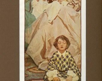 1905 Antique Children's Print of The Little Land