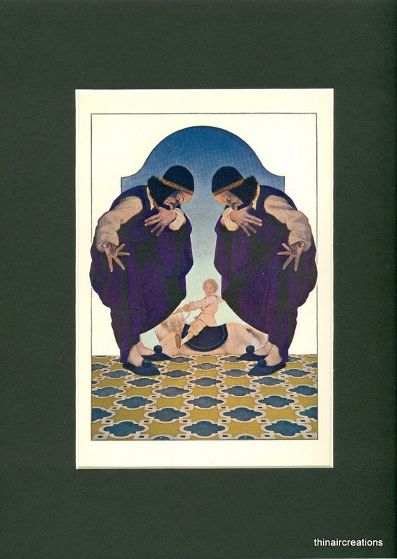 1904 Maxfield Parrish - The Fly-Away Horse Print