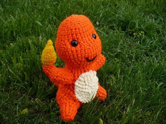 Charmander Amigurumi Free : Charmander Amigurumi Plush by furfactory on Etsy