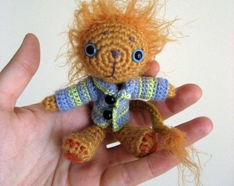Geoffrey The Lion - Amigurumi Pattern