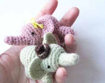 Percy The Elephant - Amigurumi Pattern