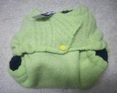 MamaBear BabyWear One Size Wool Diaper Cover Wrap - Reversible, Closureless