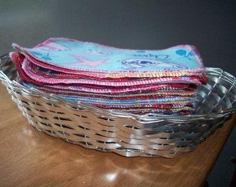 MamaBear Reusable Cloth Wipes (Unpaper) Set - Baker's Dozen