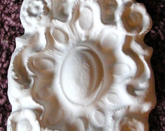 DC Medallion Plaster Mold Clay Mold Push Mold