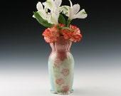 Handmade Bud Vase, Porcelain-Sale