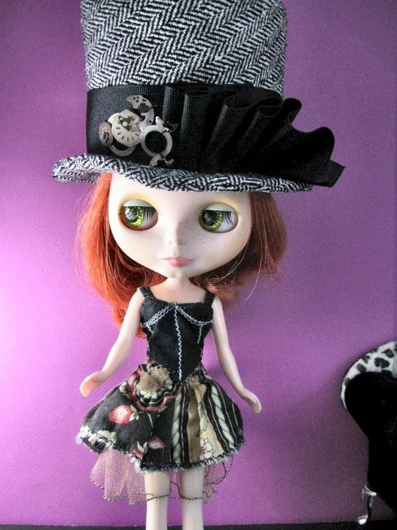 Blythe Steampunk Corset and Skirt