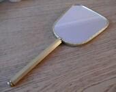 SALE Vintage Hand Mirror
