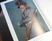 Footlights and Spotlights Memoir of Otis Skinner  Versatile turn-of-century American Actor 1924  Illustrated Autobiography