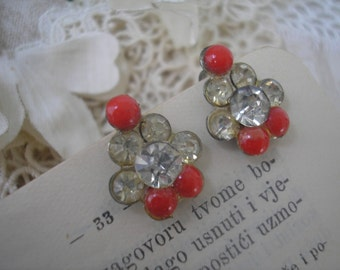 Vintage BLING Earrings