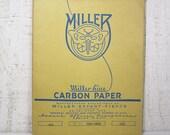 Vintage Carbon Paper Pencil Typewriter Copy Royal Blue Envelope USA PeachyChicBoutique on Etsy