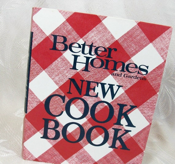 Vintage 1970 Better Homes Gardens New Cook Book Binder