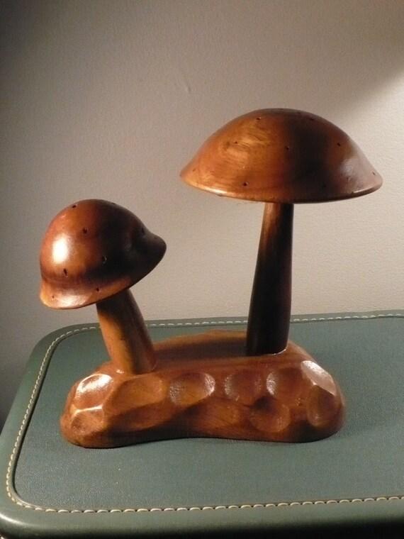 Vintage Mushroom Hors D'oeuvre Server