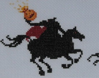 Sleepy Hollow Cross-Stitch