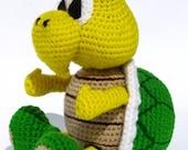 Koopa Troopa - PDF amigurumi crochet pattern
