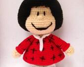 Amigurumi Mafalda inspired doll - Amigurumi pattern