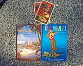 Vintage-Inspired Postcards and playing cards Set 2