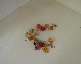 Charm bracelet Matryoshka charm