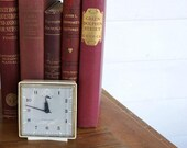 Vintage Alarm Clock Cream Travel Size by LeeLeesCloset on Etsy