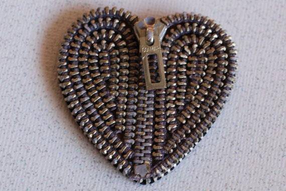 Conmar Vintage Zipper Lapel Pin