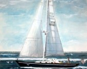The 44 Footer -original -SIGNED PRINTS 8 X 10 - 15.00, 11 x 14 - 25.00, 13 X 19- 35.00. Message me and I will list them for you.