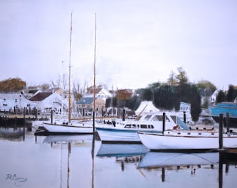 Tuckerton Seaport-original -SIGNED PRINTS 8 X 10 - 15.00, 11 x 14 - 25.00, 13 X 19- 35.00. Message me and I will list them for you.