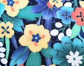 RESERVED FOR LAURA - Tropical Floral and Fauna - 56 inch length x 3