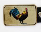 Belt Buckle Rooster Cock  for Men