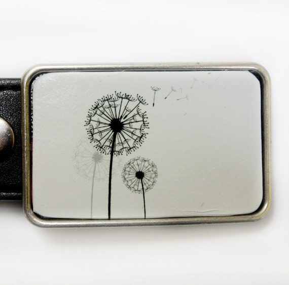 Dandelion Wish Belt Buckle for Women FREE SHIPPING